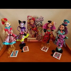 Ever After High series Way too Wonderland full Set